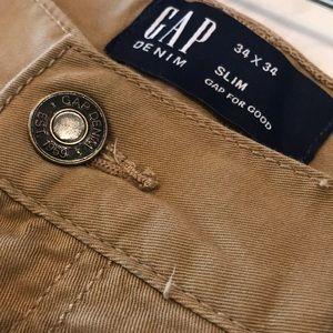 GAP slim stretch Pants 34x34